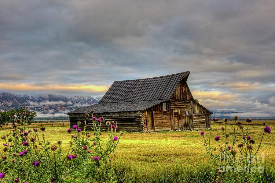 Moulton Barn Photograph