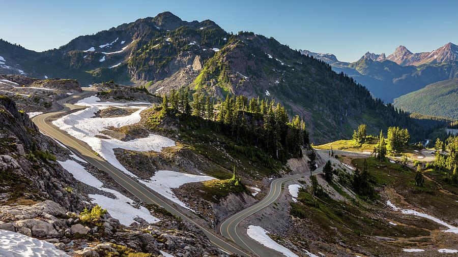 Mount Baker Scenic Drive Photograph