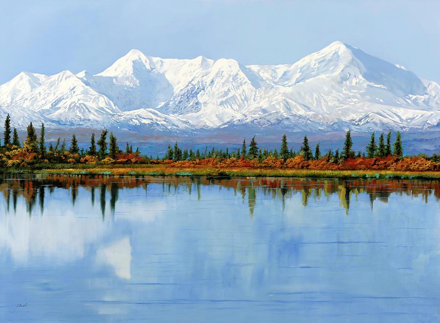 mount Denali in Alaska Painting