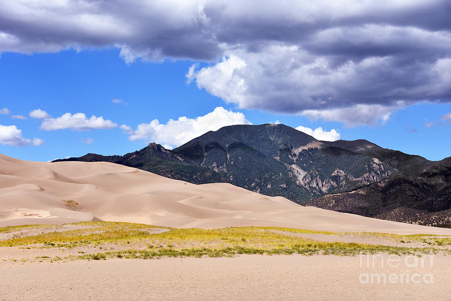 Great Sand Dunes National Park Photograph - Mount Herard, Colorado by Catherine Sherman