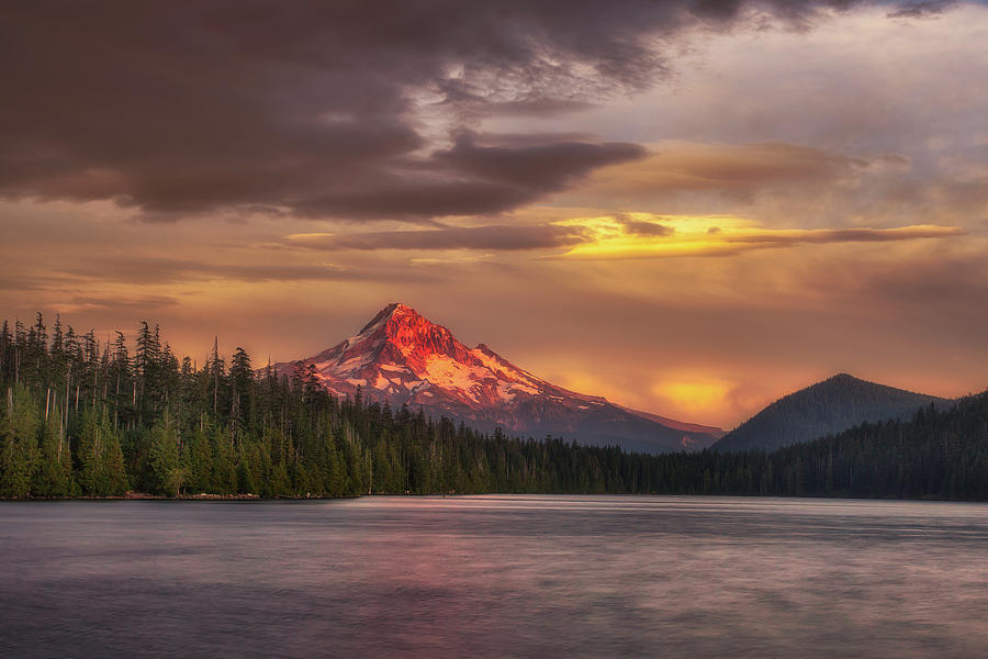 Mount Hood Photograph - Mount Hood Moods by Darren White