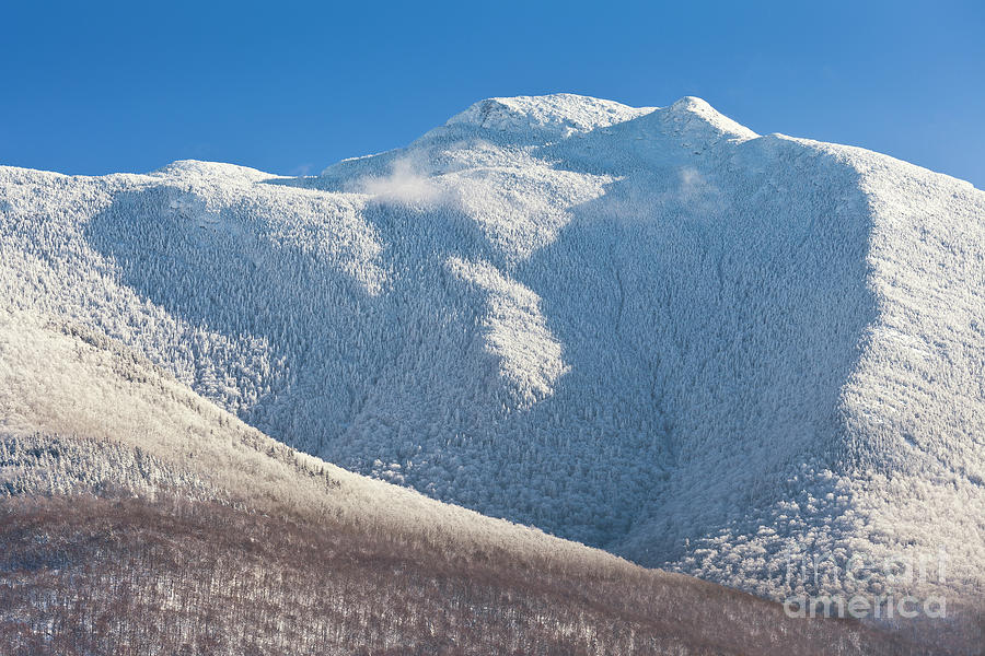 Mount Mansfield Winter Summit Photograph