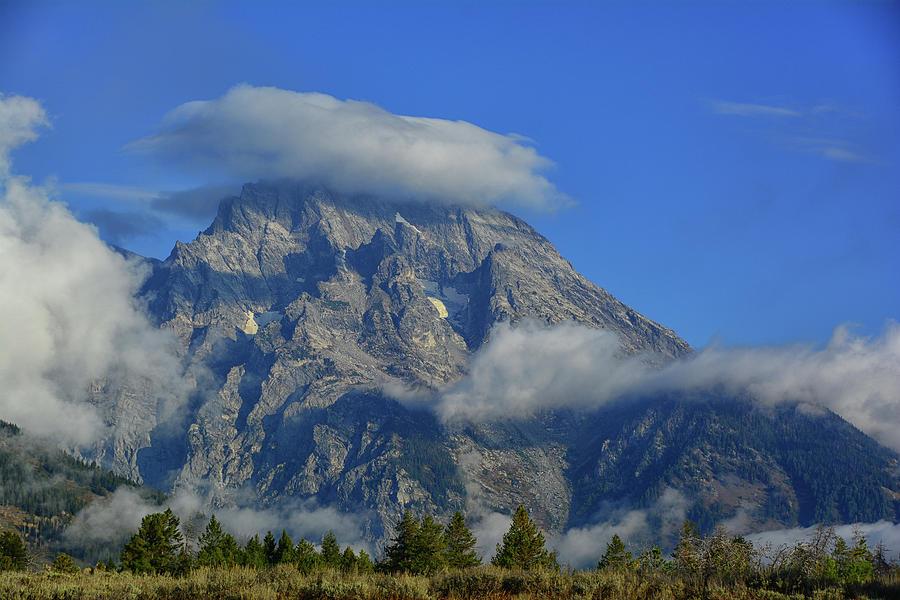Mount Moran and Weather by Raymond Salani III