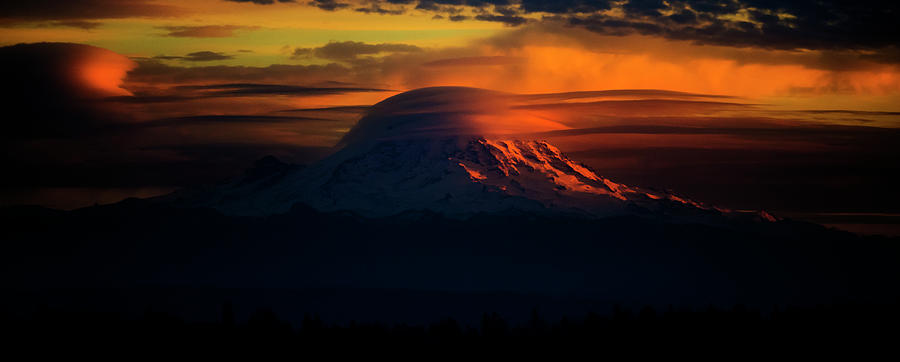 Mount Rainier Comb Over Photograph