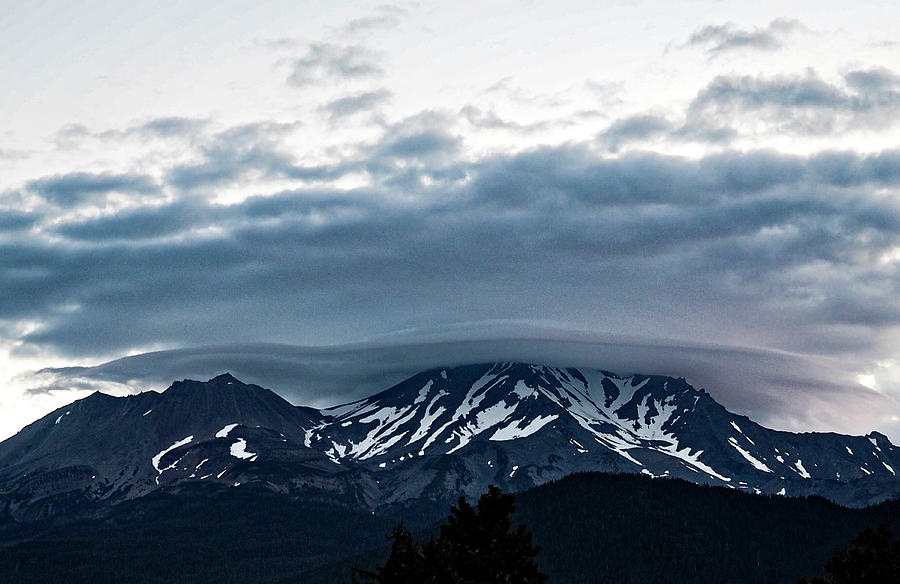 Mount Shasta W Lenticular 5 Photograph