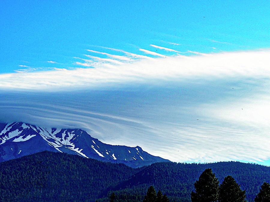 Mount Shasta W Lenticular 6 Photograph