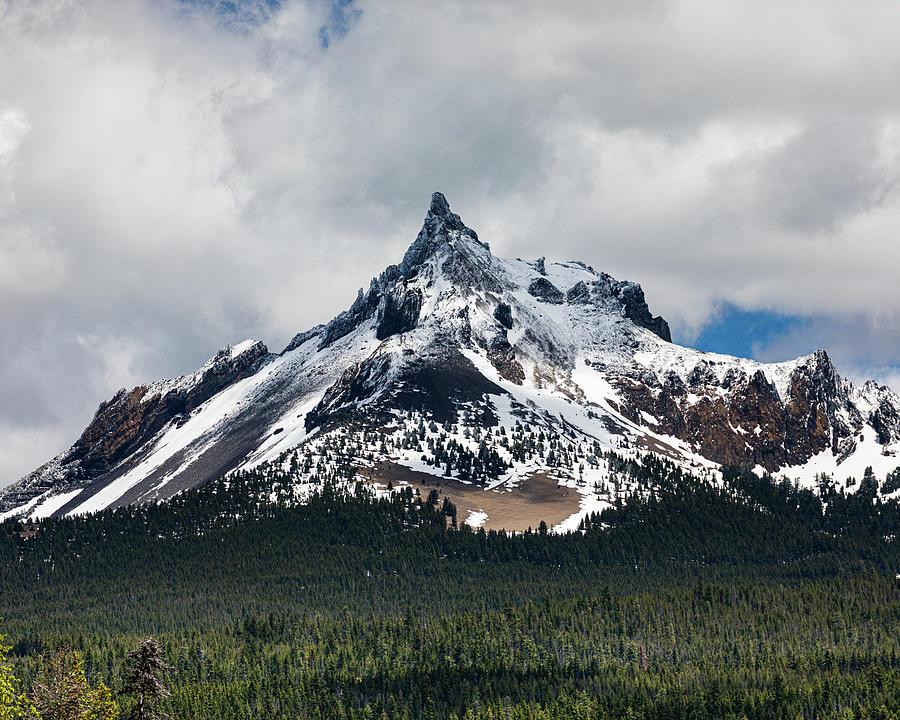 Mountain Photograph - Mount Thielsen by John Heywood