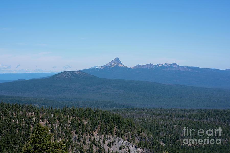 Mount Thielsen Photograph - Mount Thielsen, Oregon by Michael Ver Sprill
