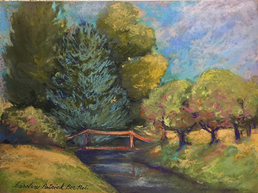 Mount Vernon summer Painting by Caroline Patrick