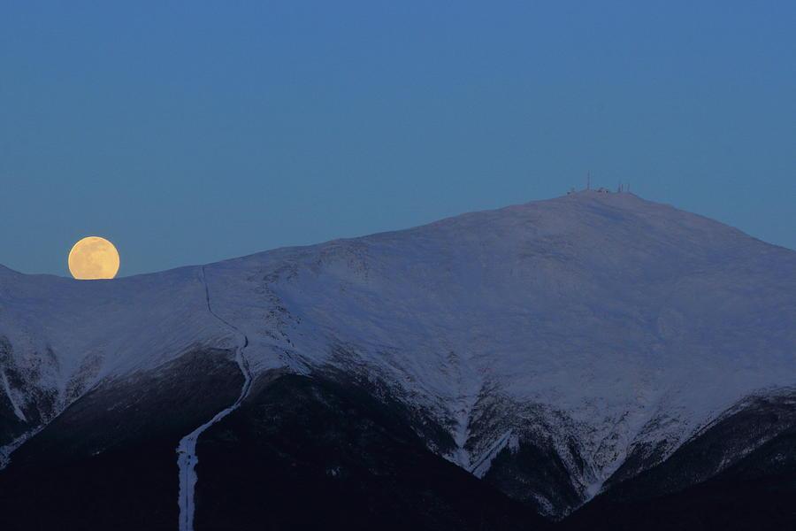 Mount Washington Moonrise Photograph