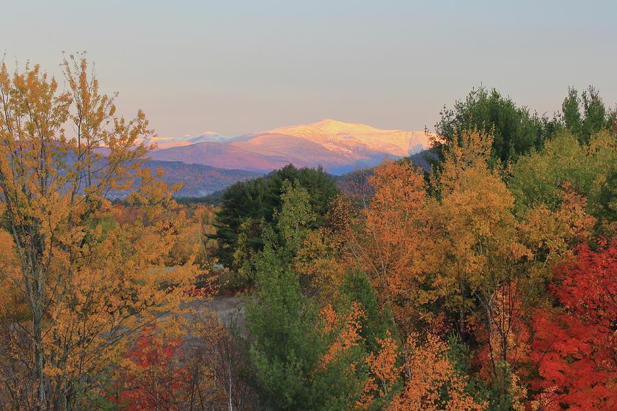 Mount Washington Valley Autumn Snow Photograph