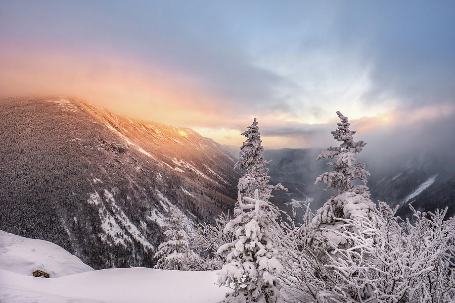 Mount Willard, Winter Light by Jeff Sinon