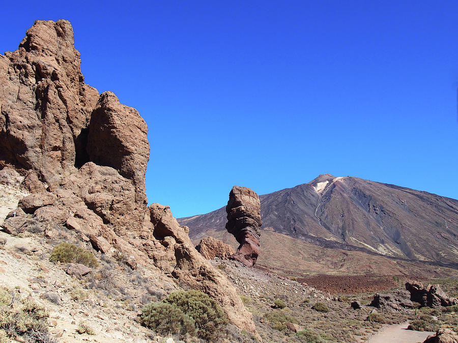 mountain and rock formations tenerife by Philip Openshaw