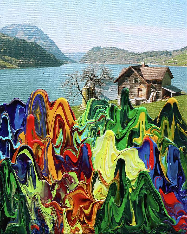 Mountain Lake by Antonio Wehrli