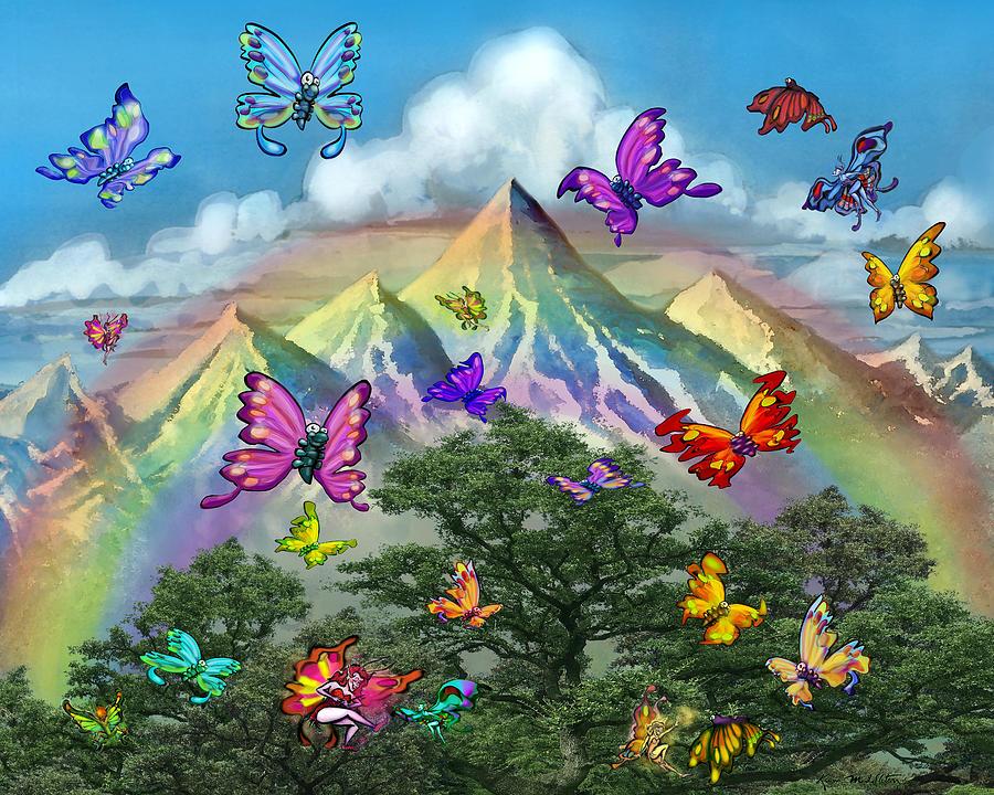 Mountain Magic Digital Art