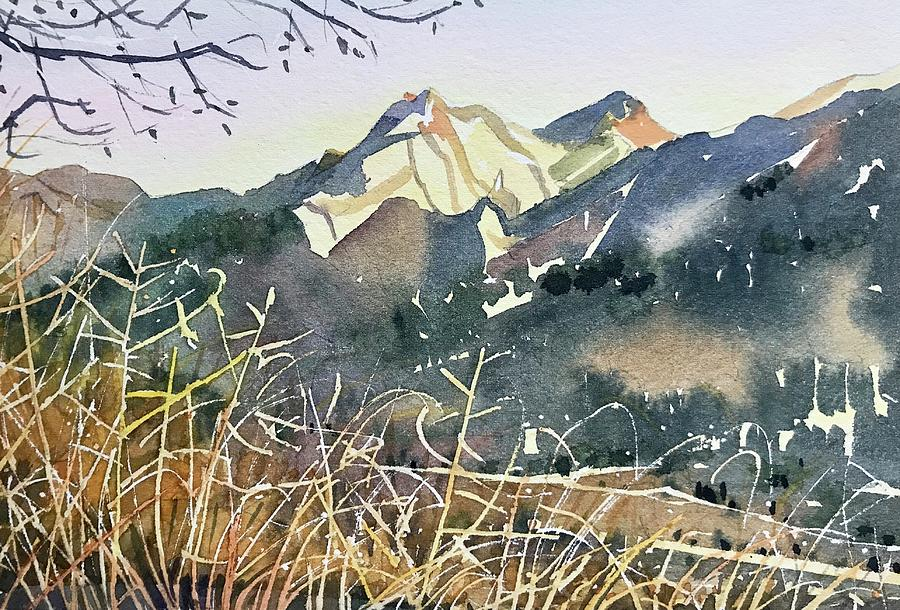 Golden Hour - Malibu Creek Painting