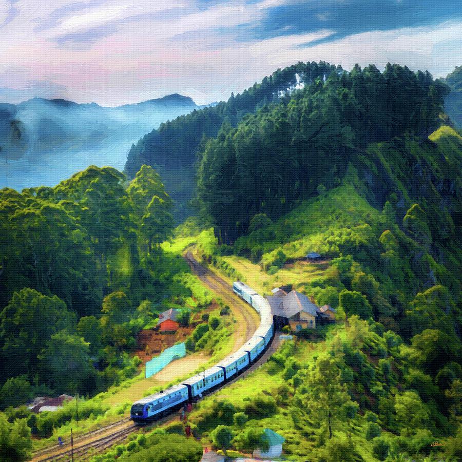 Mountain Railway - Dwp1658967 Painting