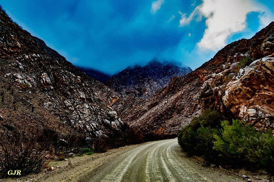 Mountain Road To Sentinalhurst L A S Digital Art
