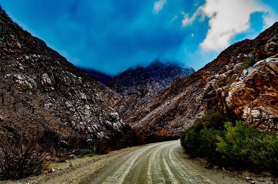 Mountain Road To Sentinalhurst L B Digital Art