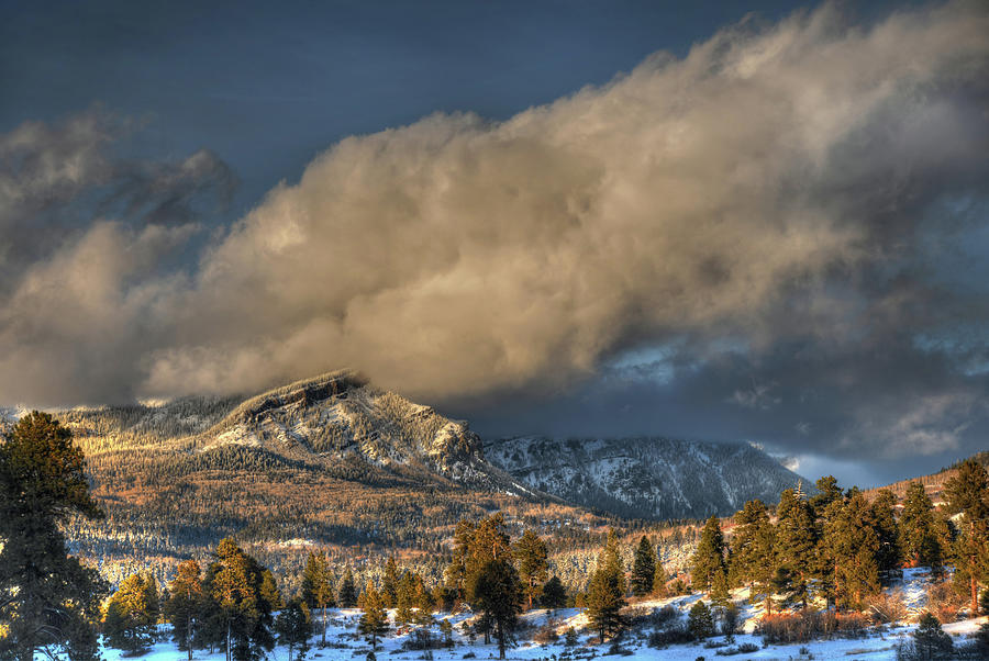 Pagosa Springs Co Photograph - Mountain Storm by Mark Langford