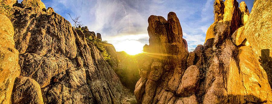 Mountain Sunsets Photograph