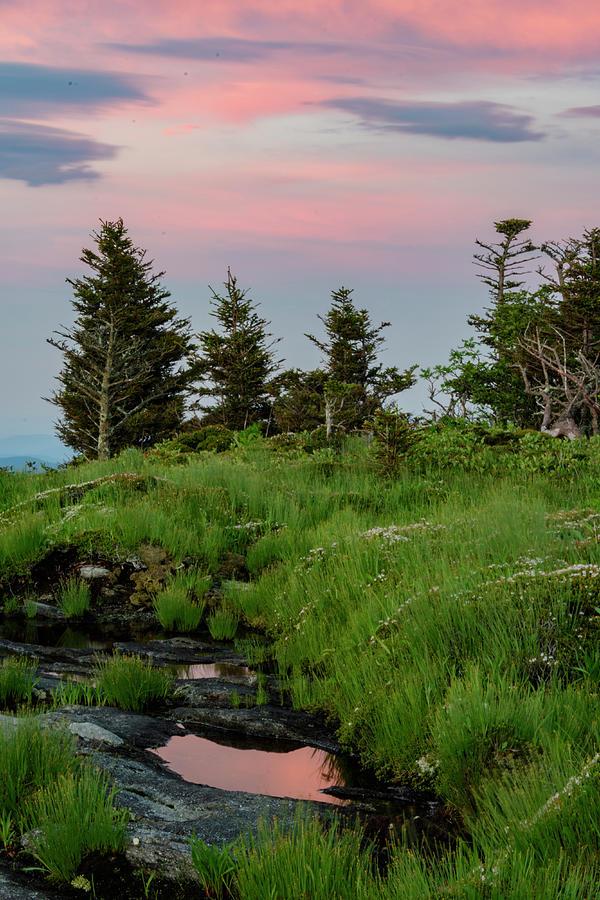 Blue Ridge Mountains Photograph - Mountain Top Sunrise by Melissa Southern