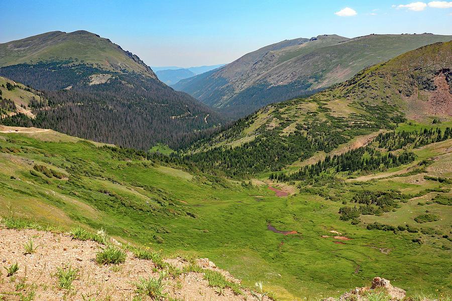 Mountain Tops Photograph