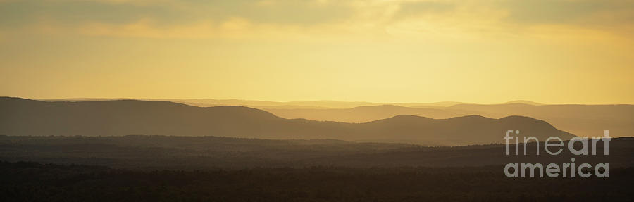 Mountains Of Central Massachusetts Photograph