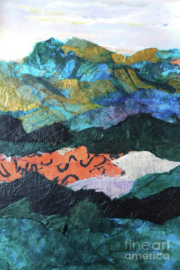 Mountainscape I 300 by Sharon Williams Eng