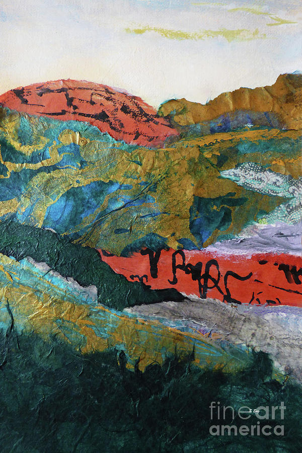 Mountainscape II 300 by Sharon Williams Eng