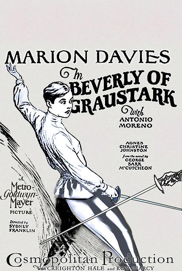Movie Poster For beverly Of Graustark, 1926 Mixed Media