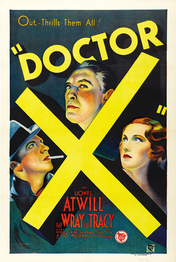 Movie Poster For doctor X, 1932 Mixed Media