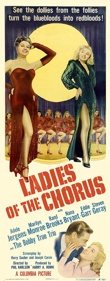 Movie Poster For ladies Of The Chorus,1949 Mixed Media