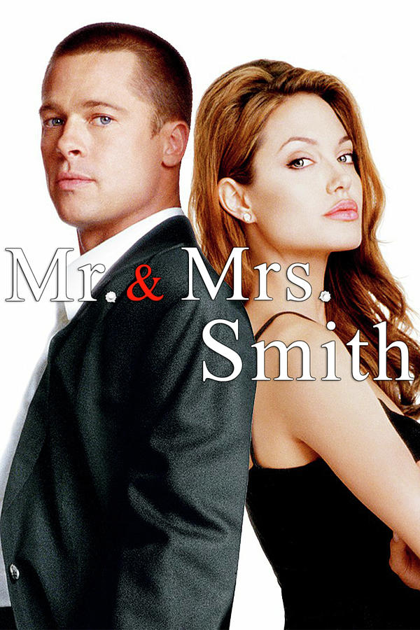 Mr And Mrs Smith 2005 Digital Art By Geek N Rock