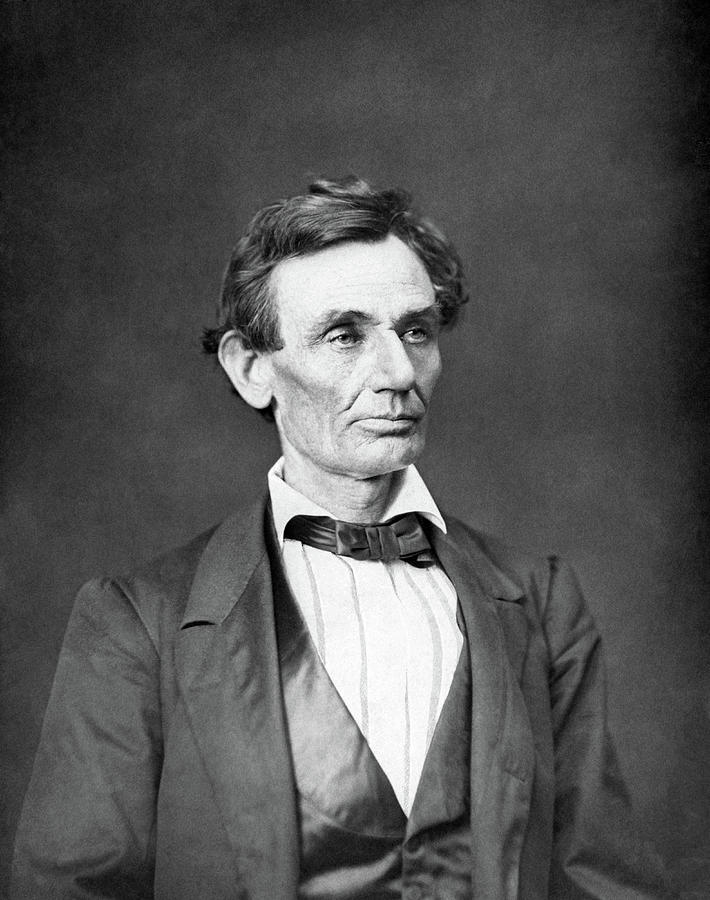 Abraham Lincoln Photograph - Mr. Lincoln by War Is Hell Store