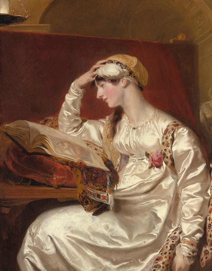 Mrs Jens Wolf by Thomas Lawrence