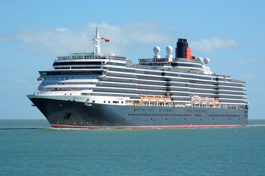 MS Queen Victoria at Sea by Bradford Martin