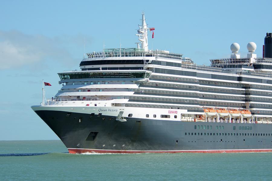 MS Queen Victoria Close Up by Bradford Martin