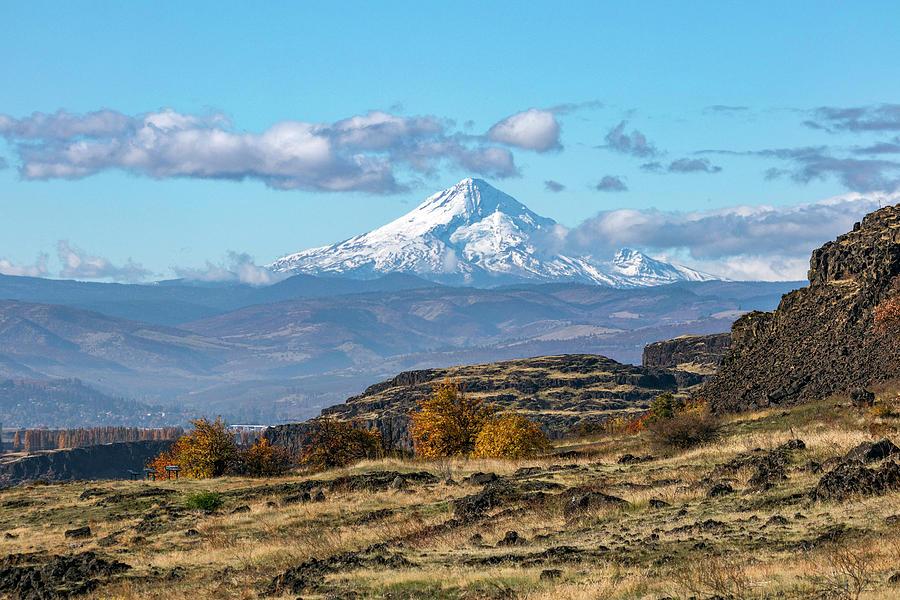 Mt Hood Autumn View by Harold Carlson