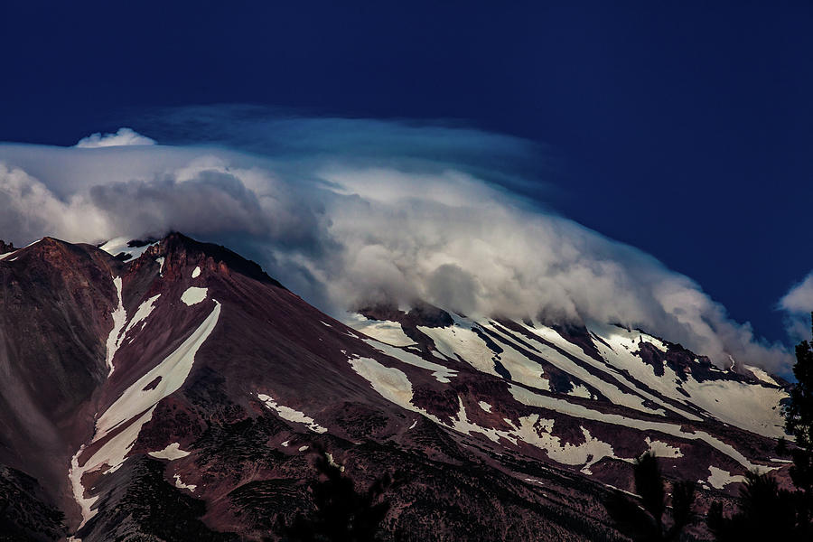 Mountains Photograph - Mt Shasta #2 by John Heywood