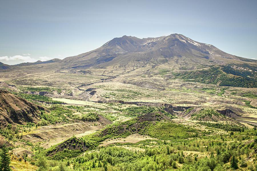 Mount St. Helens Photograph