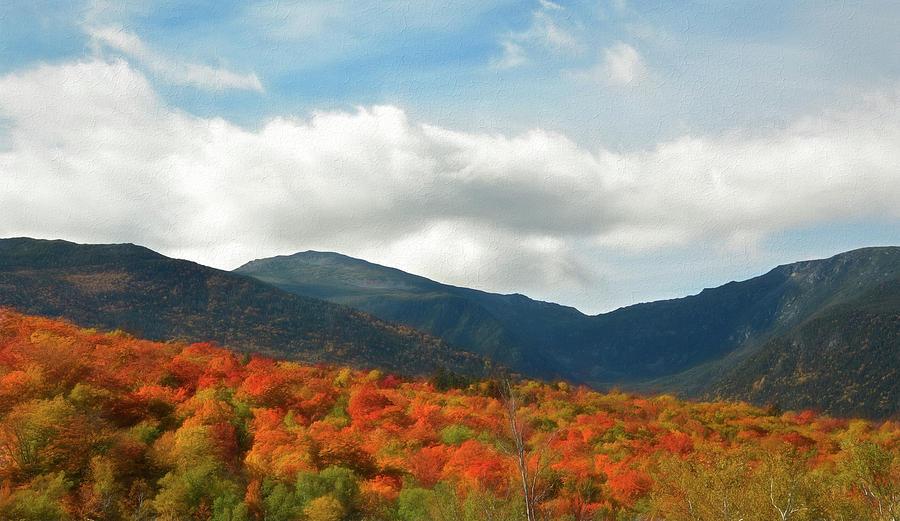 Mt Washington Autumn by NANCY DE FLON