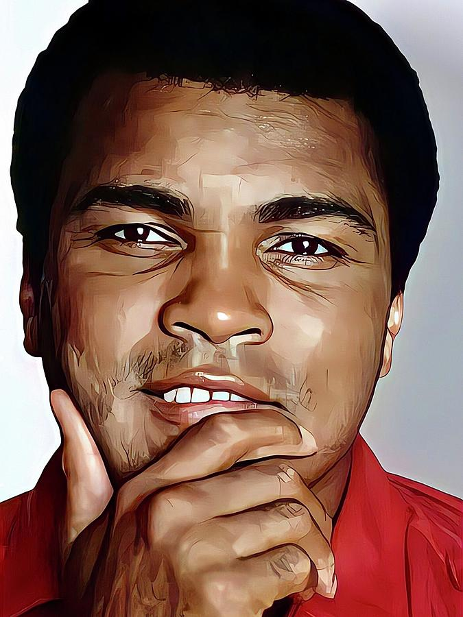Muhammad Ali Painting - Muhammad Ali the Greatest by Vincent