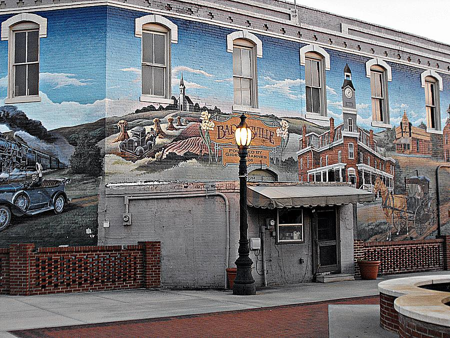 Mural Of History Photograph