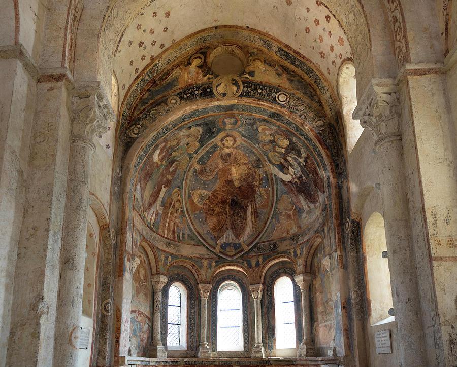 Mural Paintings in the Cluniac Chapel of Berze-la-Ville by RicardMN Photography