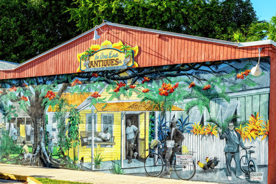 Murals of Key West by Kay Brewer
