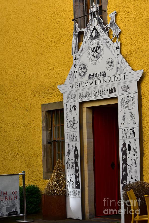 Museum of Edinburgh - Courtyard Entrance, Canongate by Yvonne Johnstone