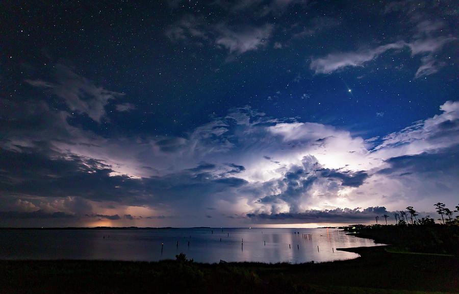 Mushroom Cloud Lightning Photograph