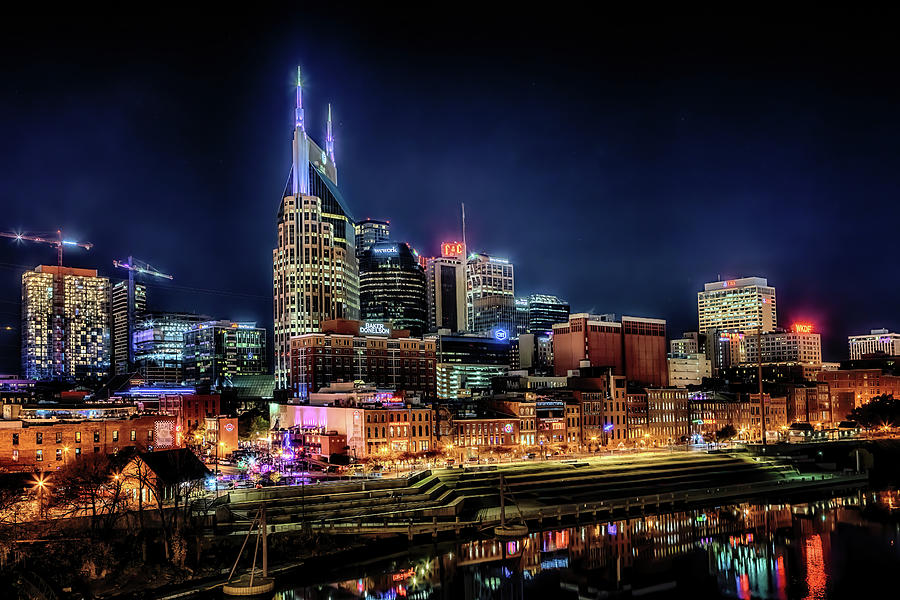 Music City at Night by Susan Rissi Tregoning
