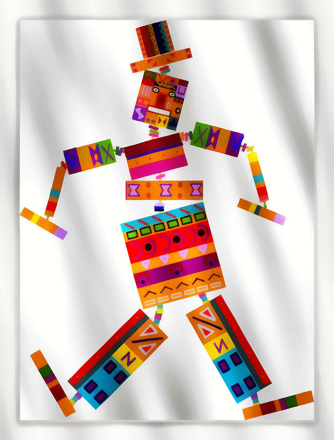 Musicbox Dancer Digital Art